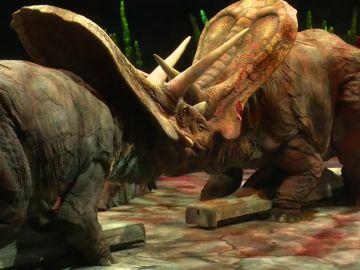 Los dinosaurios más sorprendentes 'invaden' Madrid tras un viaje de 65 millones de años y miles de kilómetros