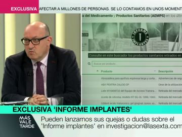 ¿Puede exigir el paciente un tipo de prótesis?: Xavier Gil responde las dudas sobre implantes defectuosos