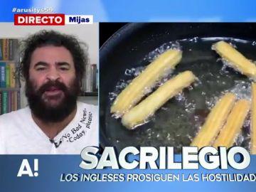 """Churros rellenos de queso, el último """"sacrilegio"""" de los ingleses que """"toca los huevos"""" a El Sevilla"""