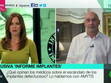 """Julián Ezquerra, sobre los implantes defectuosos: """"No es una mala praxis, lo que falla son los mecanismos de control de los productos"""""""