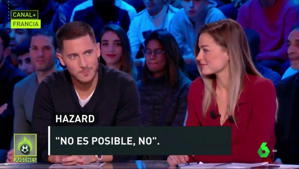 Hazard no se irá al Madrid en enero