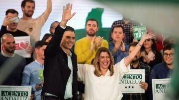 El presidente del Gobierno, Pedro Sánchez, durante un acto público en Marbella