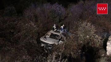 Un muerto y tres heridos en un accidente en Hoyo del Manzanares