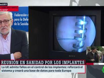 """Sánchez Bayle: """"Muchas veces lo último que aparece en el mercado sanitario no ha sido suficientemente probado"""""""