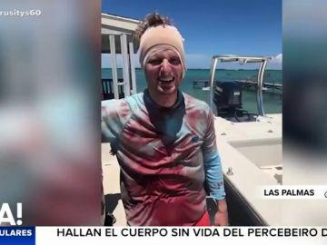 Un tiburón muerde en la cabeza a un hombre que hacía pesca submarina en las Bahamas