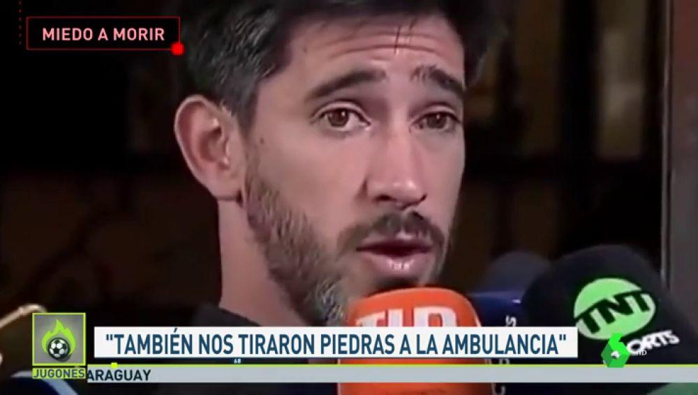 """Pablo Pérez, capitán de Boca: """"No puedo jugar al fútbol así, en una cancha donde puedo llegar a morir"""""""