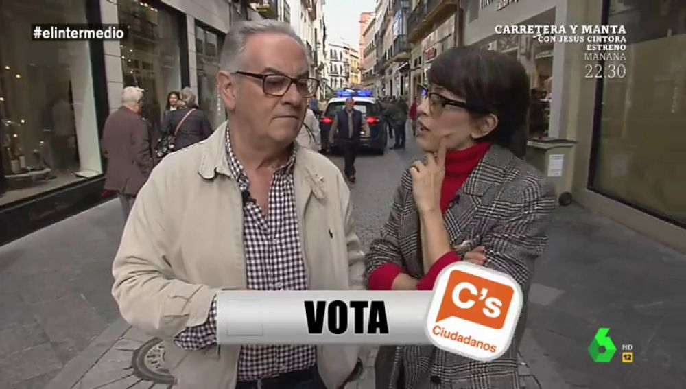 """Un concursante de 'Lo vota, no lo vota': """"Para encontrar al de Ciudadanos lo tengo más difícil porque puede ser del PP o de VOX"""""""