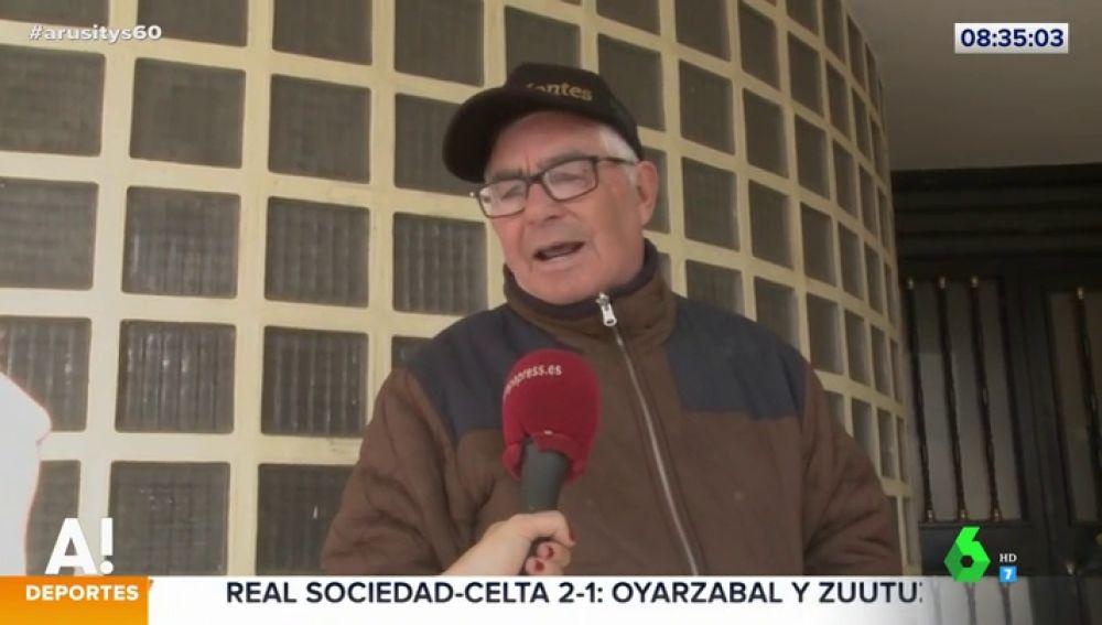 La advertencia del abuelo de Omar Montes a la persona que ha robado a su nieto
