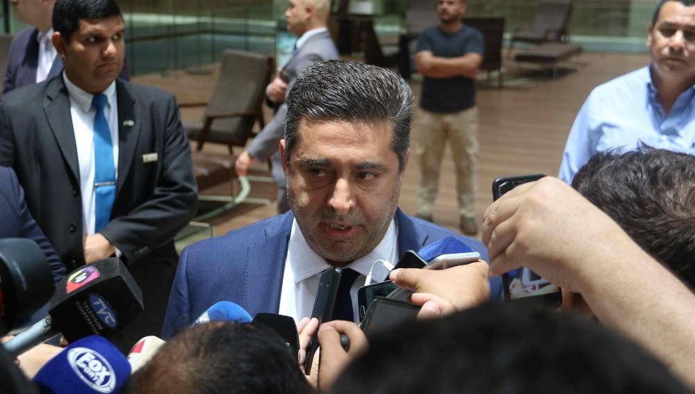 El presidente de Boca Juniors Daniel Angelici