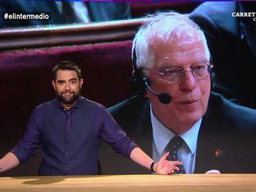 """Dani Mateo alucina con las declaraciones de Borrell: """"Decir que se mataron cuatro indios no es el comentario más adecuado para un ministro"""""""