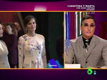 Josie habla del vestido de la reina Letizia