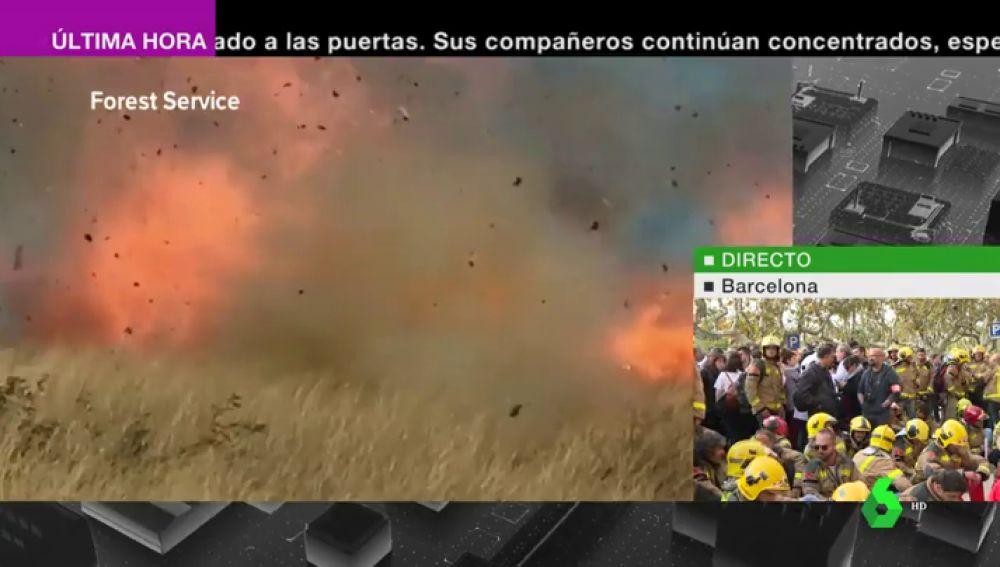Una pareja celebra el anuncio del sexo de su hijo y acaba provocando un incendio de más de 19.000 hectáreas