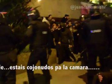 Manifestación en la que fue denunciado Juan Carlos Mohr
