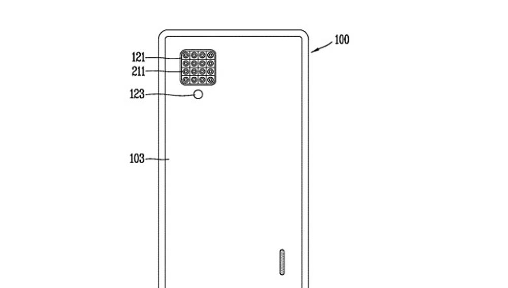Patente de LG con las 16 cámaras