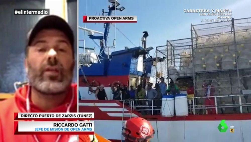 """Riccardo Gatti, sobre los migrantes rescatados: """"Les esperan torturas, violaciones y exclavitud. Prefieren morir que volver a Libia"""""""