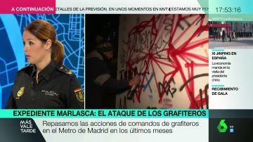 """Analizamos el perfil de los grafiteros con una oficial de Policía: """"La clase social va desde los parados hasta los hijos de familias adineradas"""""""