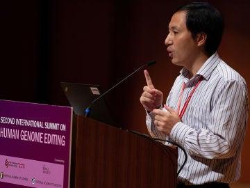 El científico chino He Jiankui