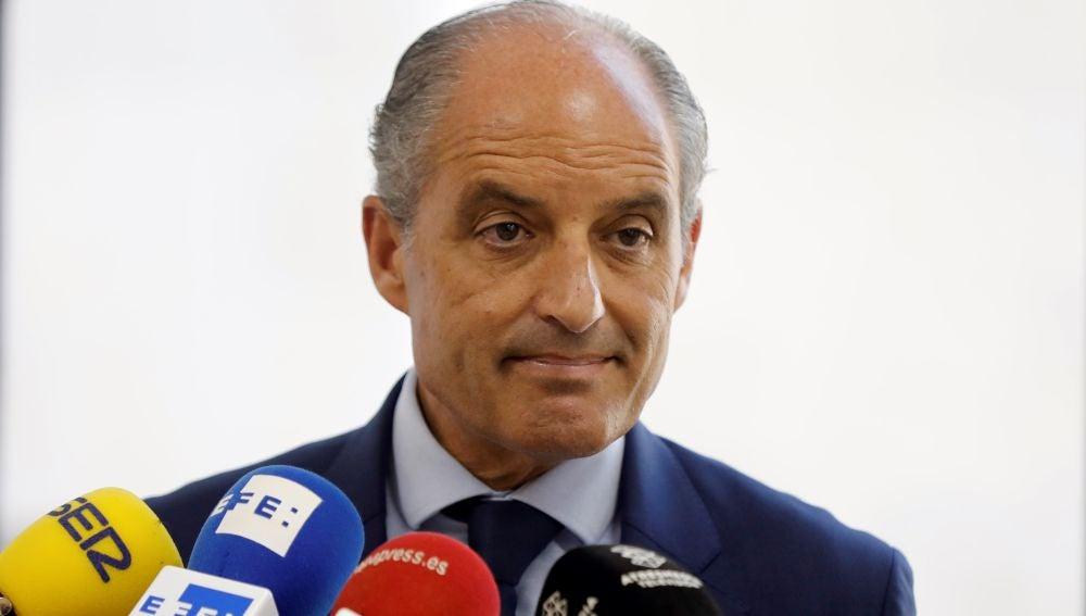 El expresidente de la Generalitat Francisco Camps