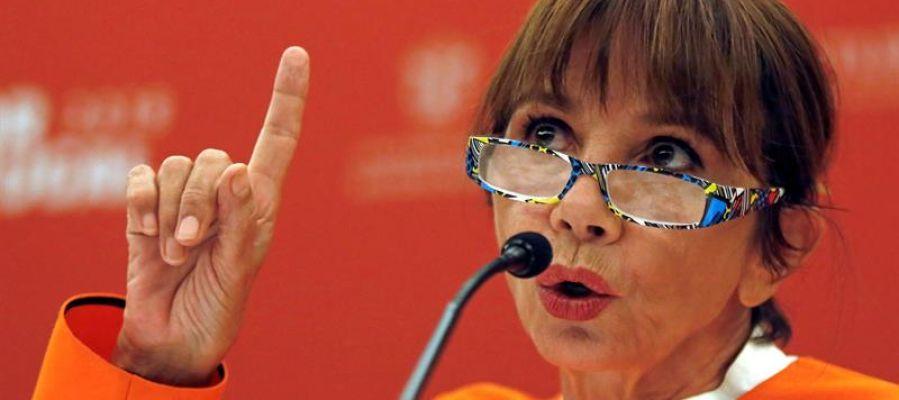 """Victoria Abril: """"El movimiento 'Me too' se está hundiendo por los excesos de las feministas radicales"""""""