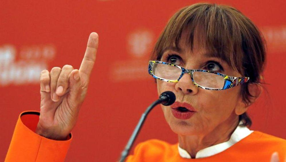 La actriz española Victoria Abril