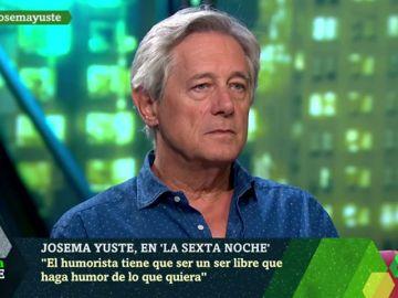 Las palabras de Josema Yuste en laSexta Noche que se le vuelven en contra tras su dardo al 'sketch' de Dani Mateo