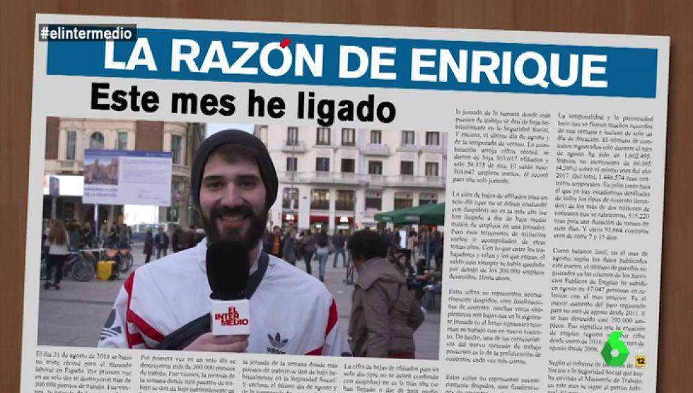 """""""Este mes he ligado, lo he conseguido"""": Informe Mensual recoge los titulares del mes de los españoles"""