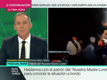 """Pascual Durá, patrón del 'Nuestra Madre Loreto': """"Corremos el riesgo de sufrir un motín, pero al Gobierno parece no importarle"""""""