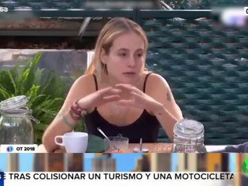 """El momento en el que María de OT reconoce que la Policía confunde a su novio con un camello por """"parecer un yonki"""""""