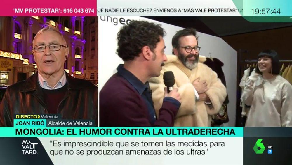 El alcalde de Valencia en Más Vale Tarde