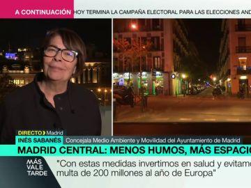 Inés Sabanés en Más Vale Tarde