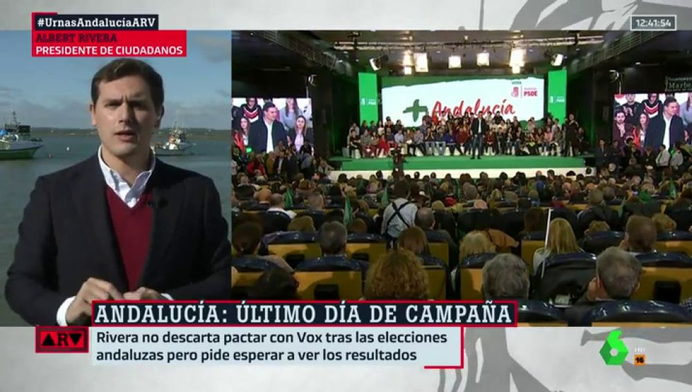 Albert Rivera, en ARV