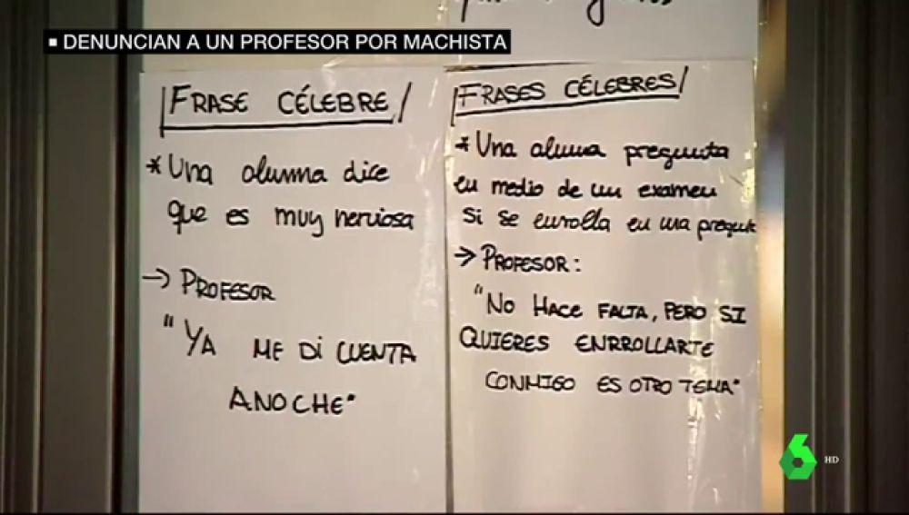 Normal Que Estornudes Anoche Ibas Muy Fresca Los Comentarios Machistas De Un Profesor De La Universidad De Valencia A Sus Alumnas