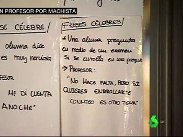 Comentarios machistas de un profesor de la Universidad de Valencia