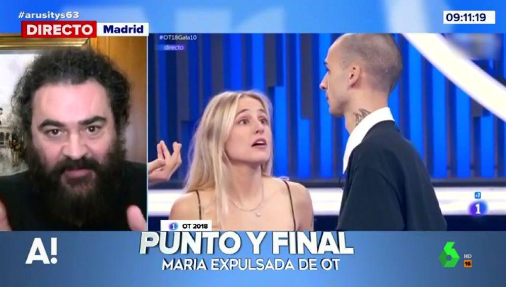 El Sevilla valora lo que supone la expulsión de María para Operación Triunfo