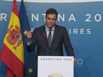 """Sánchez garantiza un """"juicio justo"""" a los independentistas encarcelados y se muestra en contra de la huelga de hambre iniciada"""