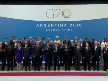 Líderes políticos en el G20