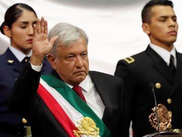 El nuevo presidente de México, Andrés Manuel López Obrador
