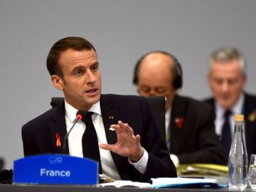 Macron en la cumbre del G20
