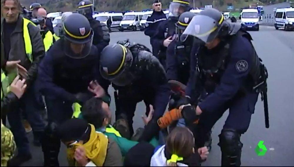Tensión en la frontera de España y Francia