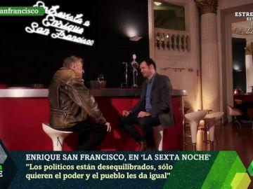 """Enrique San Francisco desvela que fue desahuciado: """"Soy un desastre con mi dinero"""""""