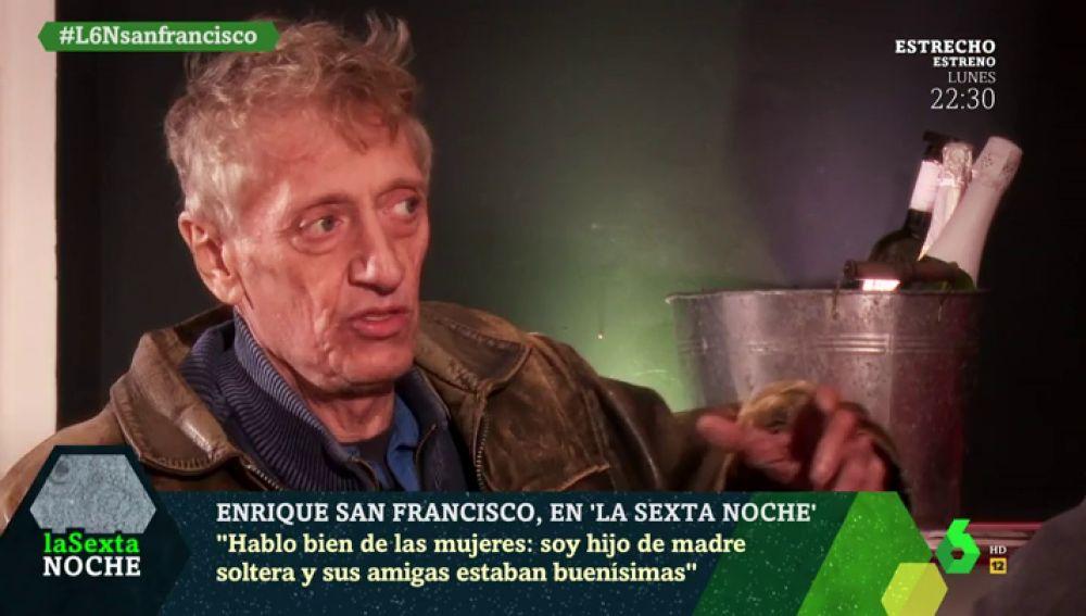 """Enrique San Francisco: """"Los políticos son gente desequilibrada"""""""