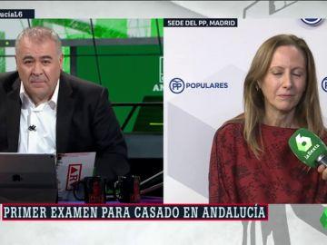 """Marta González (PP) valora el primer sondeo sobre el 2D: """"El 'sorpaso' no se va a producir"""""""