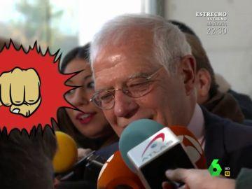 Borrell responde a Luis Troya