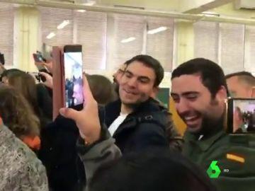 Los apoderados de Vox que increparon a Susana Díaz