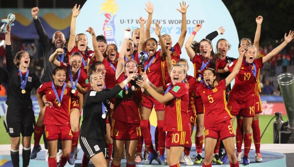 precio justo diseño elegante la compra auténtico Así ha llegado la selección femenina sub 17 a ganar el mundial de fútbol