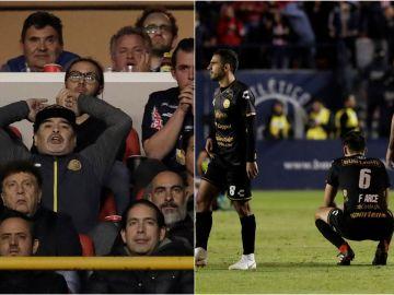 La decepción de los Dorados de Sinaloa de Maradona