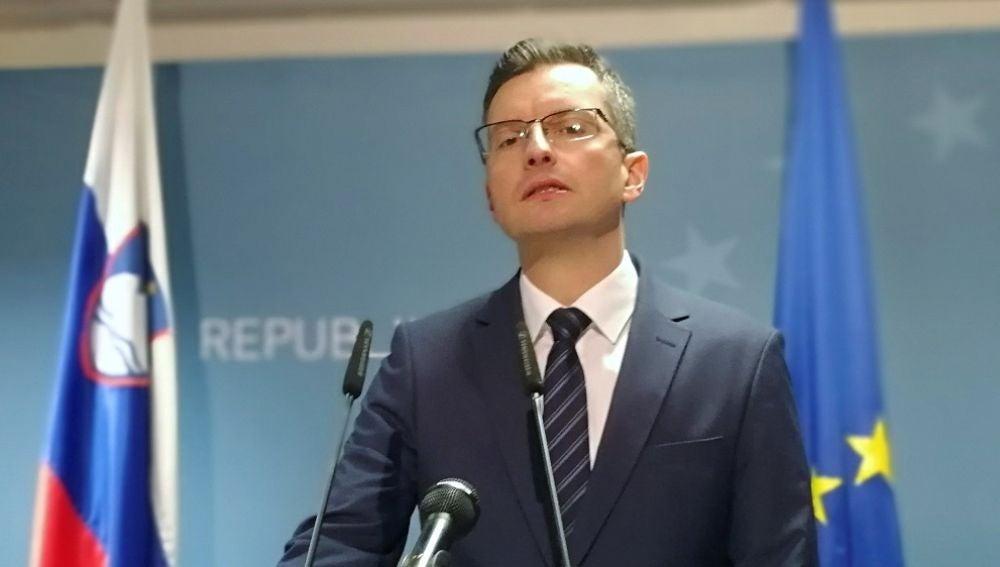 Imagen del primer ministro esloveno