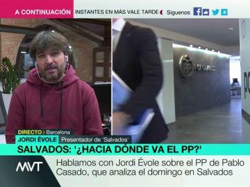 Jordi Évole, en Más Vale Tarde