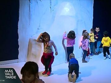 Niños en Atlantis Aquarium
