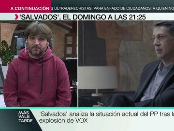 """Évole responde a la idea de 'populismo' de García Albiol: """"Es como el colesterol, te puede dar un infarto si tienes mucho"""""""